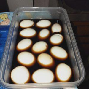 半熟卵 燻製
