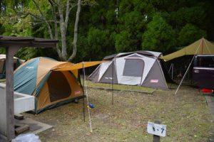 テント 設営