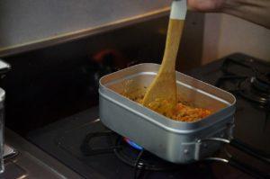スパイスカレーの料理手順