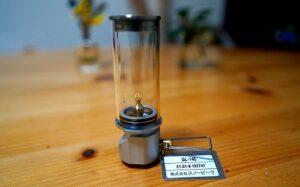 スノーピークのノクターンランプの写真です。